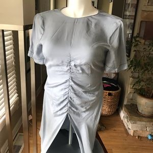 ZARA light blue dress